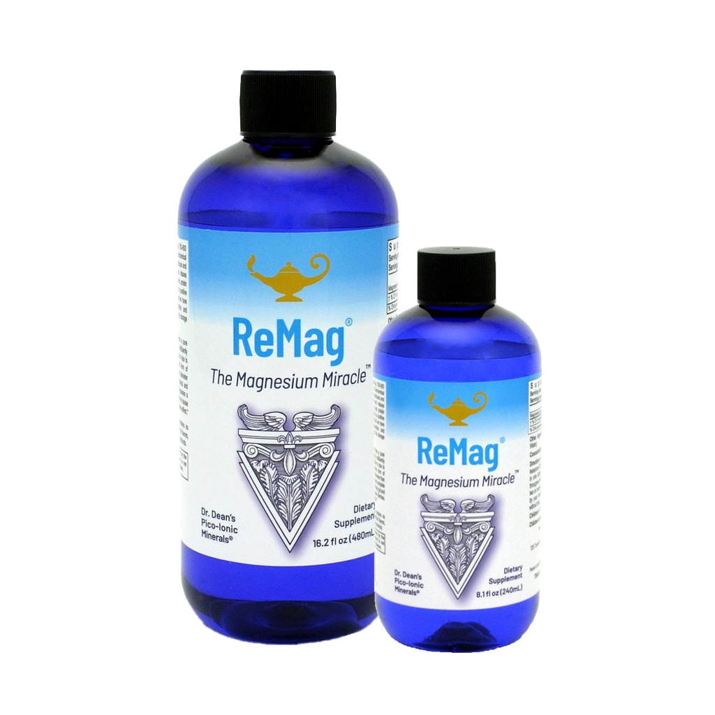 ReMag® The Magnesium Miracle Piko-jonowy magnez w płynie dr. Dean